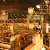 A View of the Forming Station of Our SP Mill, Coil Stacking Area is also Apparent in the Background at Our Pipe Plant