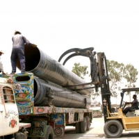 Safe Handling and Loading of Coated Pipes Through Specially Design Lifters for Safe and Secure Loading of Large Diameter Pipes