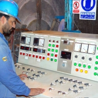 Operation Panel of Coating Plant