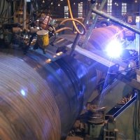 Online Ultrasonic Testing and Plasma Cutting in Process at the Pipe Plant