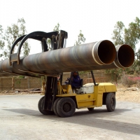Lifters are Specially Designed to Handle the Large Diameters Pipe in Safe and Secure Manner. CSAPL has been Utilizing them for to Ensure its Commitment towards Safe Working Environment.